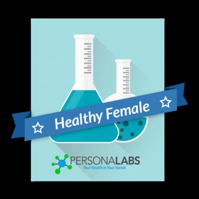 Healthy Female Checkup Blood Test