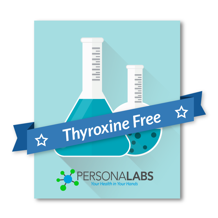 Thyroxine Free Direct Serum Test T4 Thyroid Blood Testing
