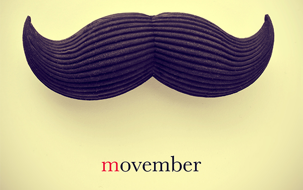 Movemeber The Moustache & Prostate Cancer Awareness