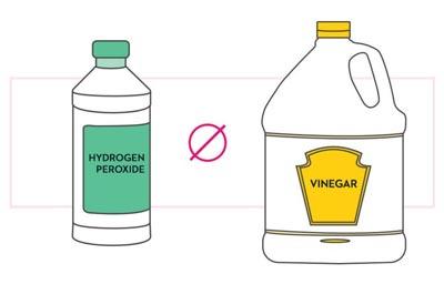 Hydrogen Peroxide and Vinegar