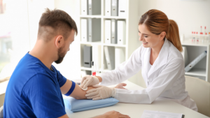 4 easy steps to get your blood tested