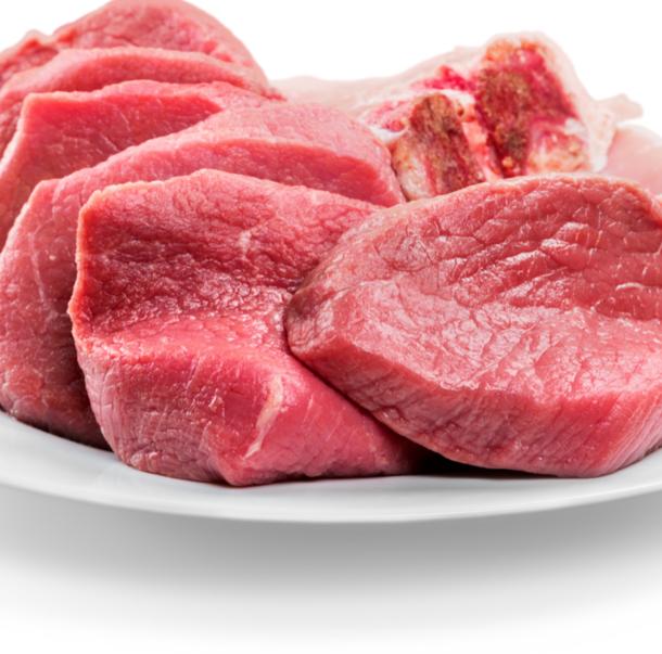 plate of steak